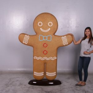 fiberglass gingerbread man