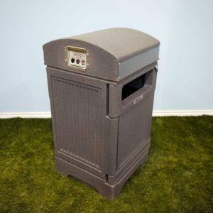 phoenix commercial waste bin with cigarette disposal