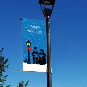 christmas carolers banner