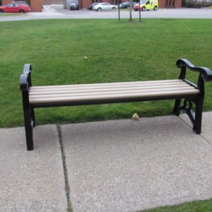 Classic Heritage Straight bench sand
