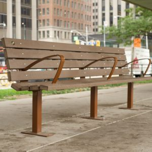 8 foot contour bench