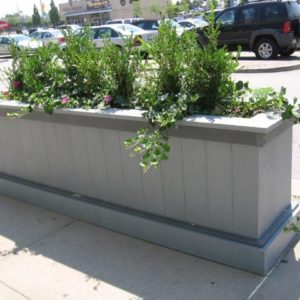 custom flower planter for shopping malls