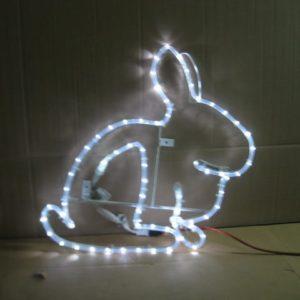 Illuminated Rabbit Display
