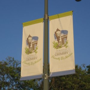custom banners downtown grimsby