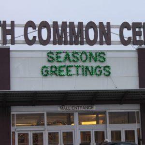 season's greetings sign