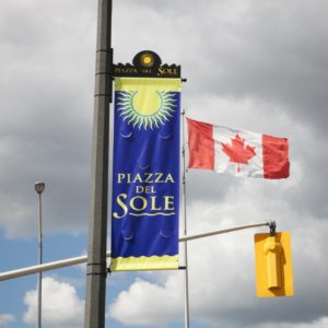 custom banners piazza del sole