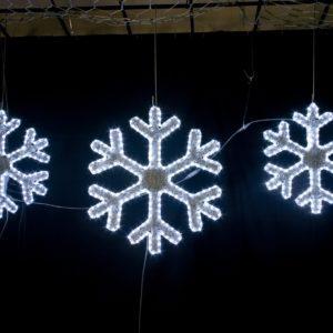 madison illuminated snowflake