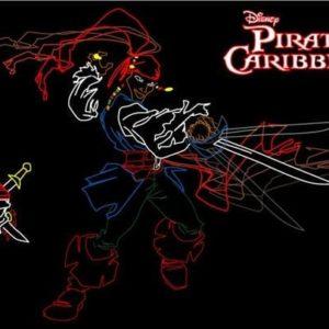 custom pirates of the caribbean display