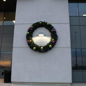 custom outdoor christmas wreath