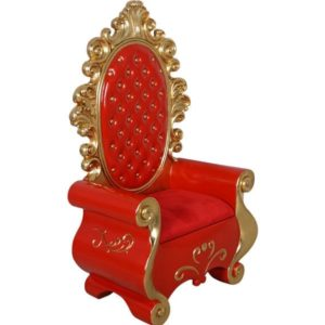 fiberglass santa throne