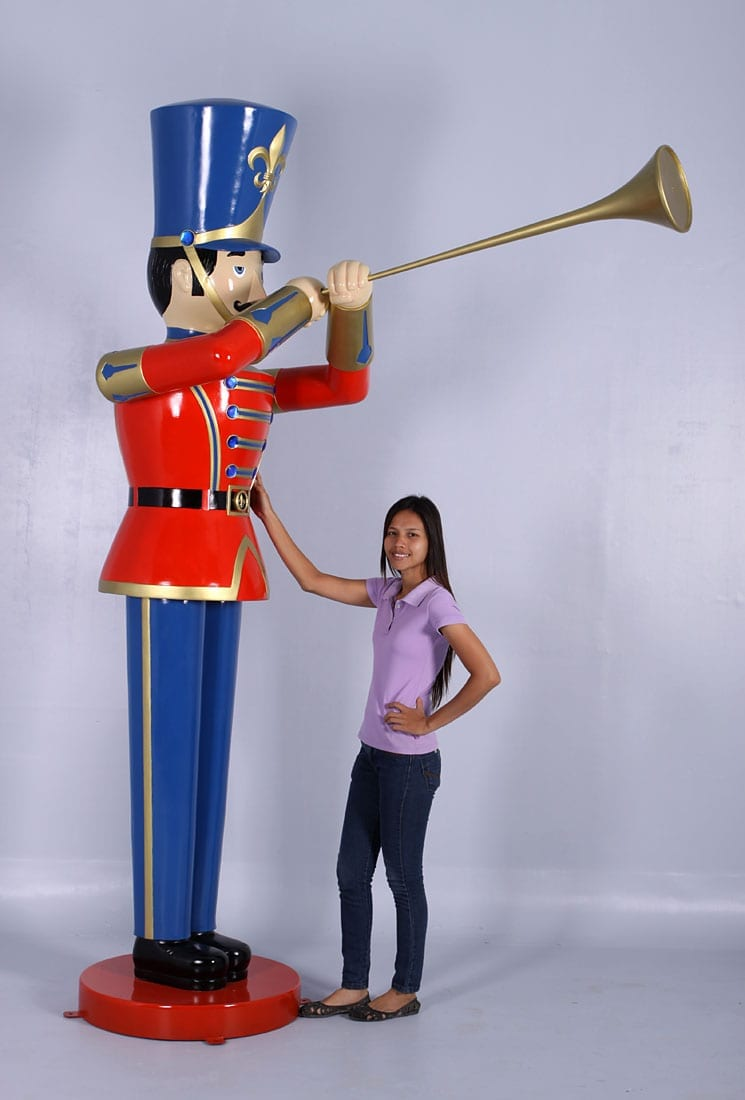 Toy Soldier With Trumpet Classic Displays