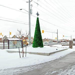 custom christmas display cassie campbell community centre