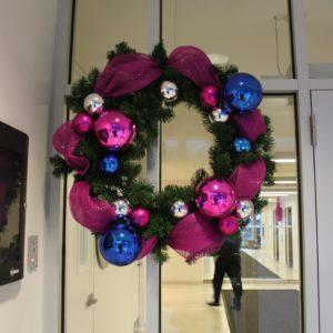 unlit christmas wreath