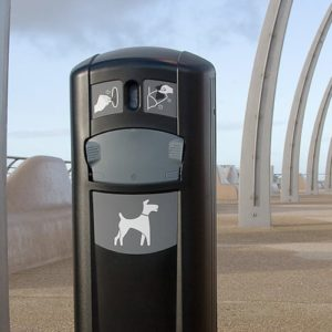 Dog Waste Containers