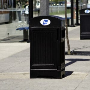 Outdoor Waste & Recycling Containers