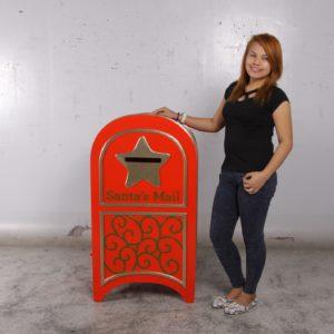 fiberglass santa's mailbox