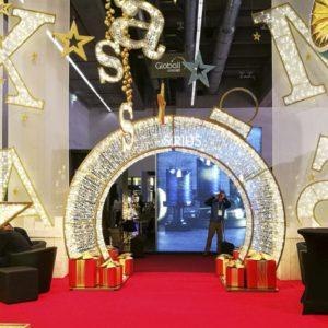 otaki illuminated ornament archway
