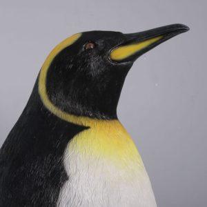 fiberglass king penguin