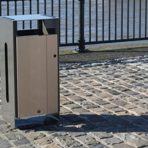 Electra 85 commercial Steel Waste Container