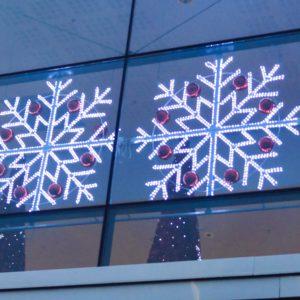 gibraltar illuminated snowflake