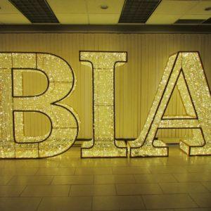 3 dimensional illuminate letters