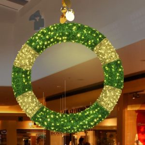ofenburg illuminated wreath