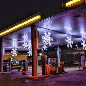 valby illuminated snowflake