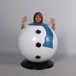 snowman christmas character