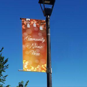 autumn lanterns banner