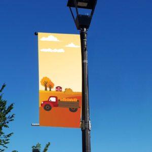 autumn scene banner
