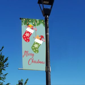 christmas stockings banner