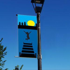 dock jumping banner