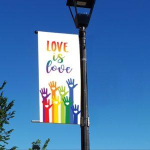 Love is Love 2 Pride Banner