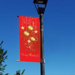 christmas ornaments banner 2