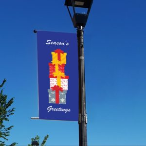 present stack banner