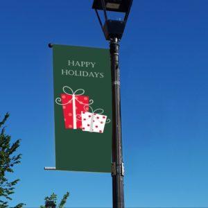 presents 1 banner