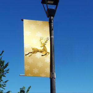 reindeer banner