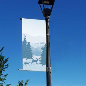 winter scene 1 banner