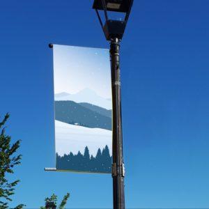 winter scene 2 banner