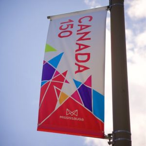 custom canada 150 banners