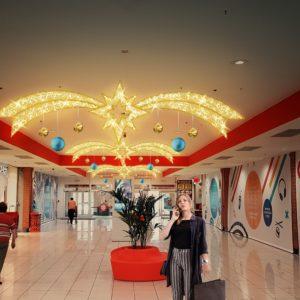 towson corridor display