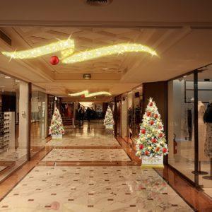 many corridor display