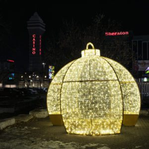 ballymena illuminated ornament
