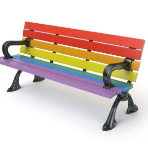 Classic Riverside Pride Bench